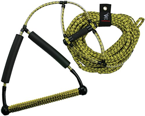 AIRHEAD Wakeboard Rope, Phat Grip, Trick Handle, Yellow