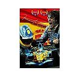 Huangchen Fernando Alonso Poster F1 Weltmeister Rennauto