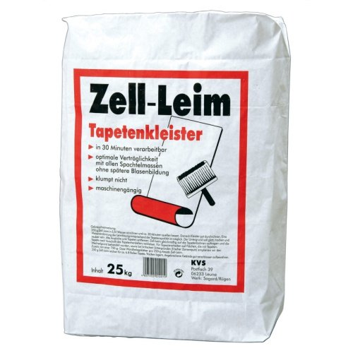 Pufas KVS Zell- Leim 25kg Tapetenkleister Kleister Tapete Kleber Rauhfaser