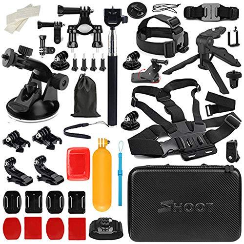 D&F Draussen Sport Kamera Zubehör-Kit für Gopro Hero / 6/5/4 / HERO (2018) SJCAM YI Crosstour AKASO Campark Sony Sport DV und andere Action-Kamera