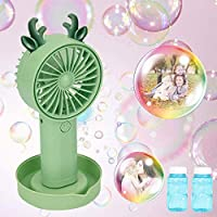 Eeglog Bubble Handheld Fan Machine