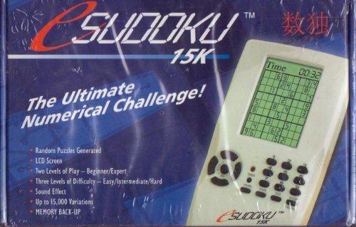 Sudoku 15K The Ultimate Numerical Challenge! eSudoku by Sudoku