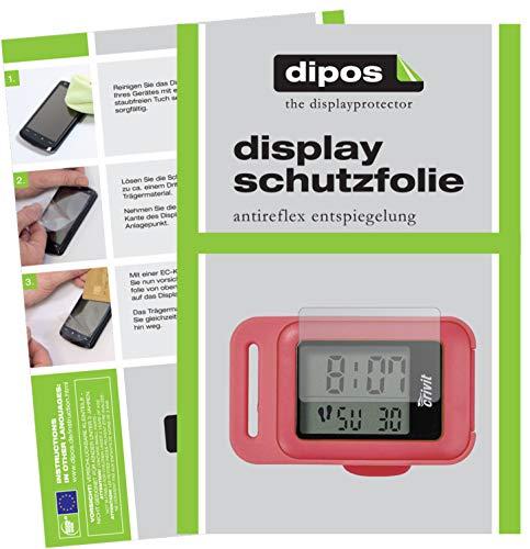 dipos I 6X Schutzfolie matt kompatibel mit CRIVIT Schrittzähler Folie Displayschutzfolie