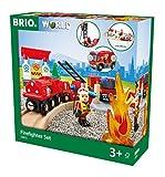 BRIO- Set Ferrovia dei Vigili del Fuoco, 33815
