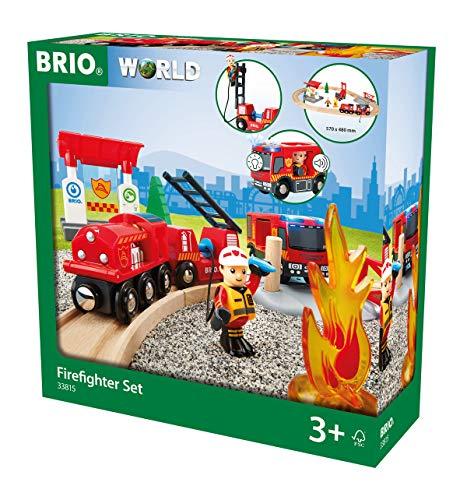 BRIO WORLD ファイヤーレスキューセット 33815
