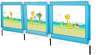 Barrera de Cama, Riel de Cama portátil para bebés, barandas de Tipo de Puerta para niños pequeños, para Cama tamaño King/Queen - 50 cm de Altura efectiva (Tamaño : 200cm)