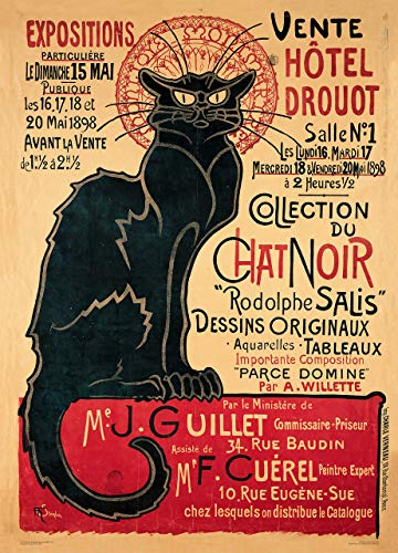Editions Ephi Collection du Chat Noir 50 x 70 cm