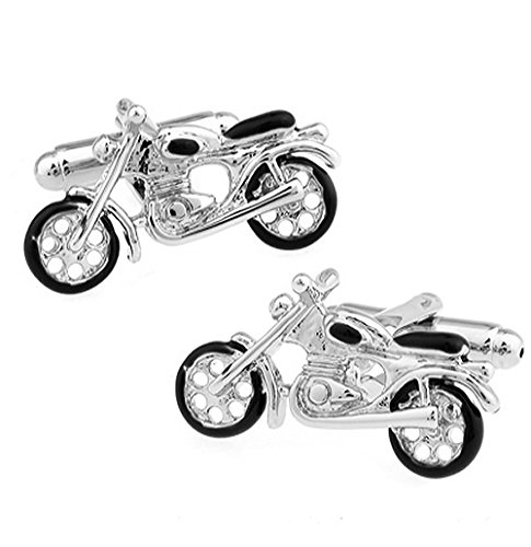Ashton and Finch Vintage Motorbike Cufflinks for Men's Birthdays, Weddings and Special Occasions   Cufflinks for Men
