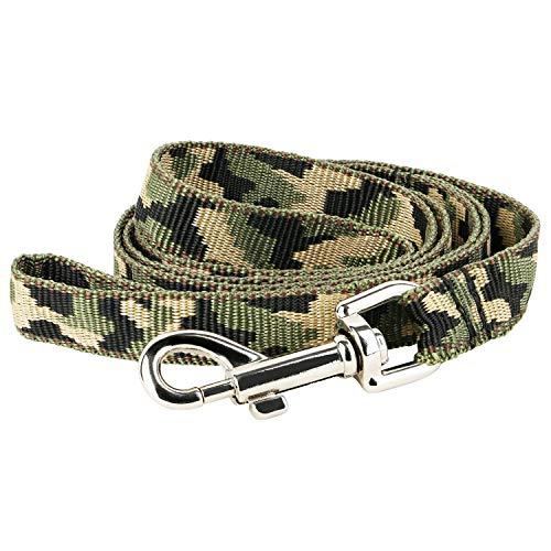 OOH!BENNY Hundeleine Leine Camouflage Nylonleine Führleine Trainingsleine
