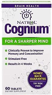 Natrol, Cognium, 60 Tablets