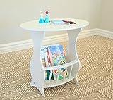 Frenchi Furniture Magazine Table Finish: White