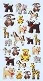 Creapop Sticker Softysticker 'Tierkinder' Aufkleber 3451125