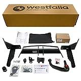 Abnehmbare Westfalia Anhängerkupplung für Insignia Sports Tourer (BJ 08/2009 - 05/2017) im Set mit 13-poligem fahrzeugspezifischen Westfalia Elektrosatz