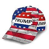 Kdshjdgwes56 Trump for President 2020 Keep America Great Trucker Hat Unisex Adult Baseball Mesh Cap Black