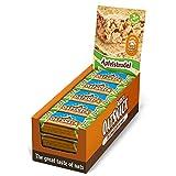 Energy OatSnack Riegel - Apfelstrudel - Haferflocken Kohlenhydrat Riegel, von Hand gemacht, 15 x 65 g Riegel/Box (975 g)