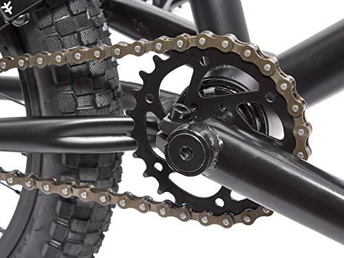 KHE BMX Fahrrad Barcode CS 16 Zoll schwarz nur 10,0kg! - 3