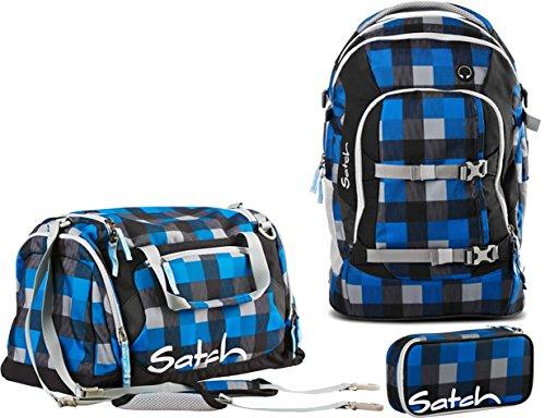 Satch Pack Airtwist Schulrucksack Set 3tlg.
