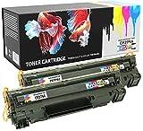 PRESTIGE CARTRIDGE h279atwobk - CF279A 79A Pack de 2 Cartuchos de tóner láser compatibles para HP Laserjet Pro M12, M12a, M12w, MFP M26A, MFP M26nw