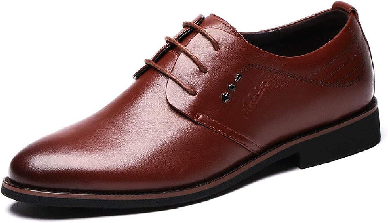 "Formal för LXLAMEN's Business Lace Up Leather skor, skor, skor, Men s Comfortable Dress Wedding skor for Men, Derby skor (Färg ""  bspringaa, Storlek  40)  online shopping och modebutik"