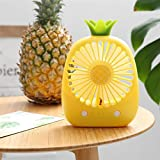 Marceooselm Cute Little Electric Fan, USB Hand-held, Especially Suitable for Summer Travel or