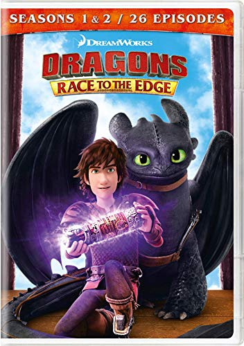 Dragons: Race To The Edge - Seasons 1 & 2 (4 Dvd) [Edizione: Stati Uniti]