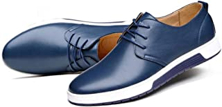 zaragfushfd Men's Classic Leather Oxford Dress Shoes Business Casual Shoes