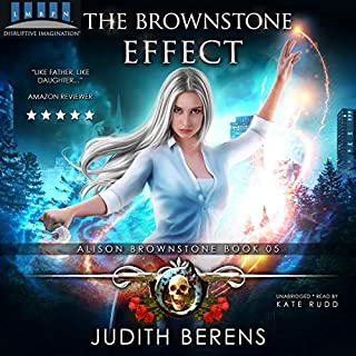 The Brownstone Effect: An Urban Fantasy Action Adventure audiobook cover art