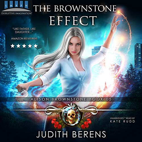『The Brownstone Effect: An Urban Fantasy Action Adventure』のカバーアート