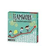 Roth Adventskalender 'Teamwork' Blau/grün, 35 x 35 x 4 cm