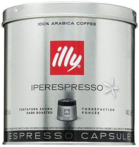Illy Caffe Capsule Tostatura Scura Metodo Iperespresso Latta Da 21 Capsule