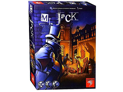 Mr. Jack Revised Edition Board Game by Asmodee
