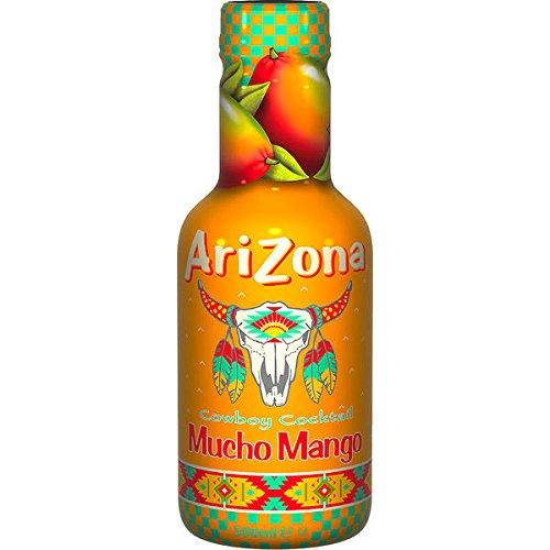12 Flaschen Arizona AriZona Mucho Mango a 500ml inc. 3,00 Euro EINWEG Pfand