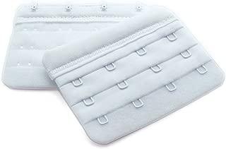 18 Colors 18 pcs Bra Back Adjustable Extension Buckle Strap ZEVONDA Womens Underwear Bra Extenders Strap Set