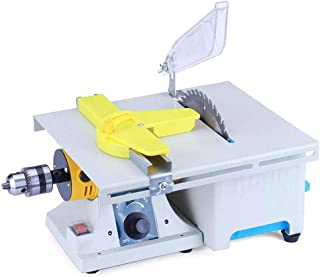 ETE ETMATE Upgraded Jewelry Polishing Machine, 0-10000RPM Mini Table Jewelry Saws Kit, Rock Polisher Bench Buffer for Gem Metal Woodworking with Complete Accessories