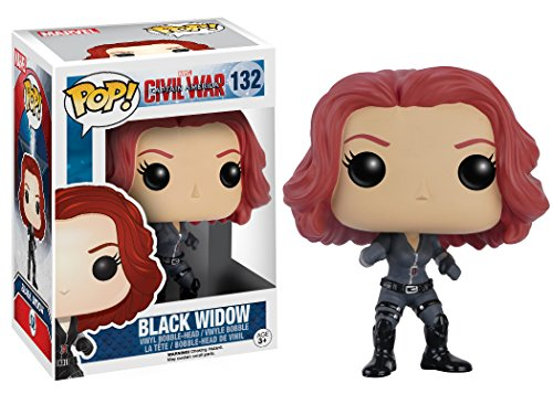 Funko Pop Black Widow (Capitán América: Civil War 132) Funko Pop Capitán américa