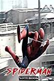 "Spiderman: Friendly Neighborhood Superhero; Notebook Journal 6"" x 9""..."