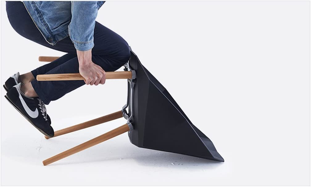 Chaise d'accoudoir chaise de loisirs créative (Couleur : C) A