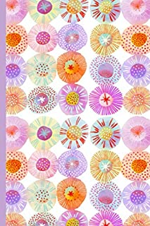Notes: A Blank Sketchbook with Sorbet Circles Abstract Watercolor Cover Art