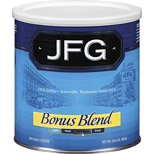 NCF100413 - New England JFG Bonus Blend Coffee Canister