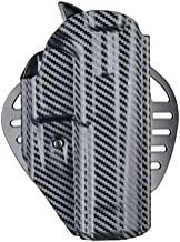 Hogue 52879 ARS Stage 1 - Carry Holster CZ P-09 Right Hand CF Weave
