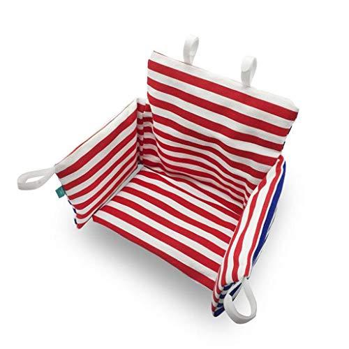 Einstellbarer Travel Booster Sitz Baby Dining Chair Cushion Kinder Gestreiftes Sitzkissen Gepolstertes rutschfeste Kissen