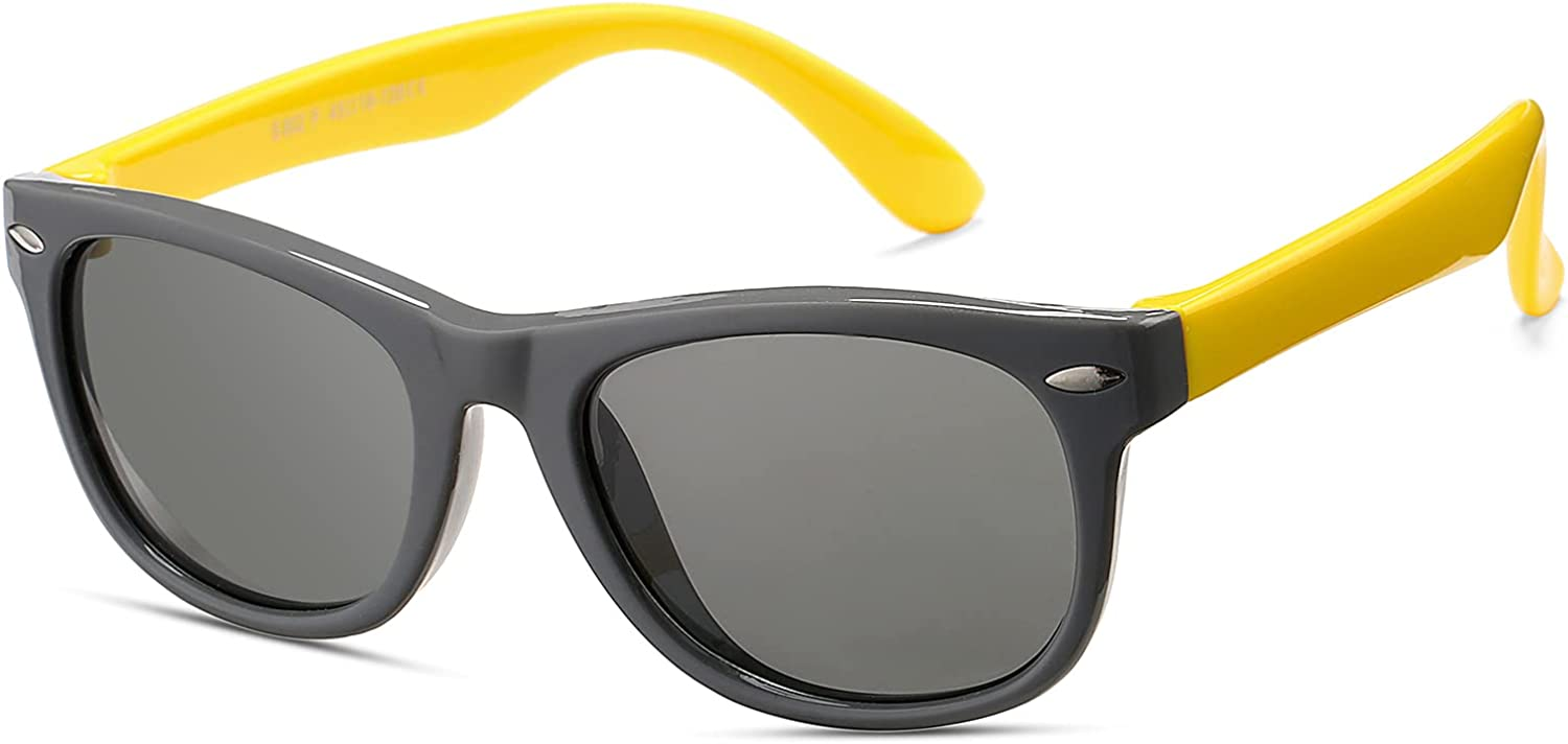 Polarized Sunglasses for Mail order Kids Shades We OFFer at cheap prices Toddler Girls Flexible