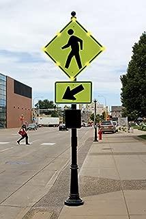 Best flashing pedestrian sign Reviews