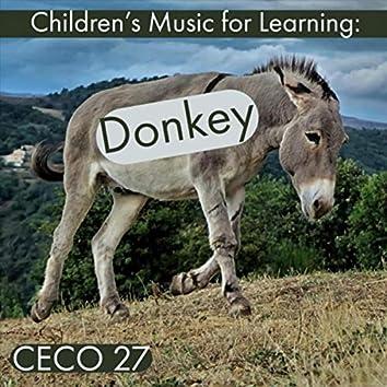 Children's Music for Learning: Donkey