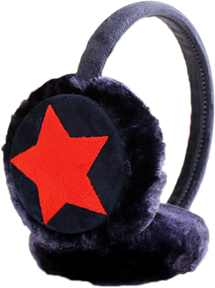 Cute Animal Soft Earmuffs Winter Warm Outdoor Ear Covers Headband Fur Ear warmer,#C5