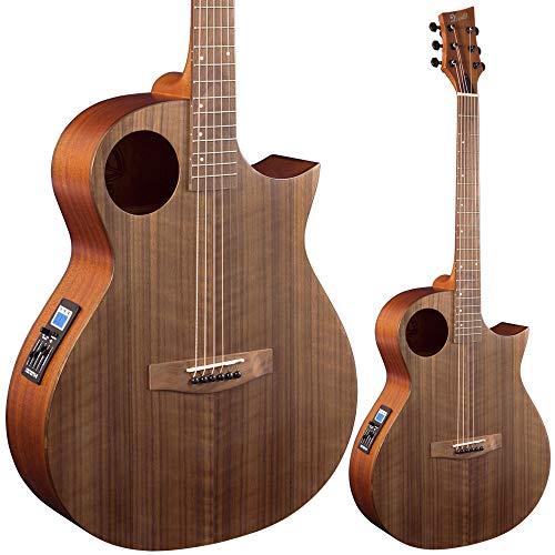 Lindo Neptune SE V2 Guitarra electroacústica de nogal negro con preamplificador y bolsa acolchada