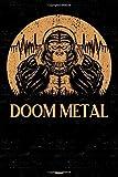 Doom Metal Planner: Gorilla Doom Metal Music Calendar 2020 - 6 x 9 inch 120 pages gift