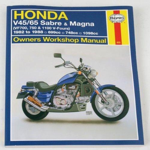 Haynes Repair Manual for Honda VF750 Sabre/Magna V4 82-88