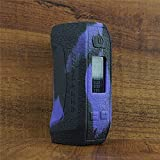 ModShield for Geekvape Aegis Mini 80W TC Silicone Case ByJojo Protective Cover Sleeve Skin Shield Wrap (Purple/Black)