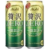 クリアアサヒ 贅沢ゼロ 500ml 48本 (2ケース)